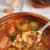 Мясной суп с перловкой